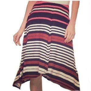 🔷🔺Long striped skirt APT 9🔴🔹